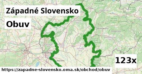 obuv v Západné Slovensko