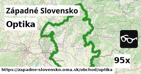 optika v Západné Slovensko