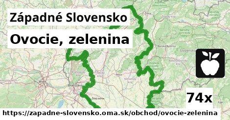 ovocie, zelenina v Západné Slovensko