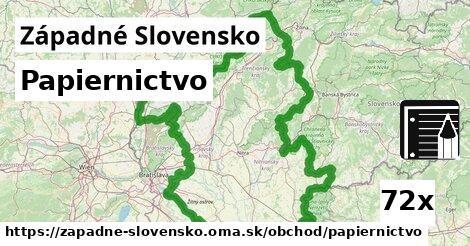 papiernictvo v Západné Slovensko