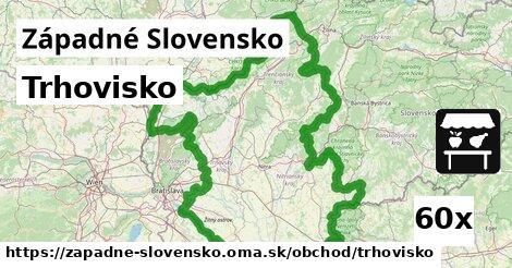 trhovisko v Západné Slovensko