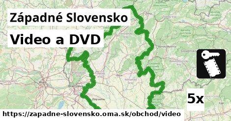 video a DVD v Západné Slovensko