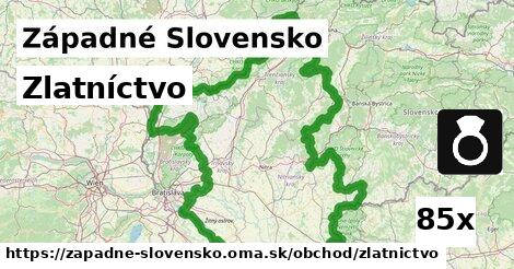 zlatníctvo v Západné Slovensko