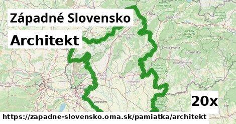 ilustračný obrázok k Architekt, Západné Slovensko