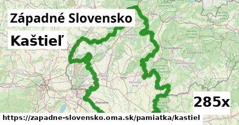 kaštieľ v Západné Slovensko