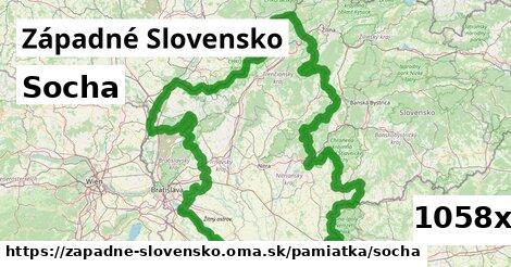 socha v Západné Slovensko