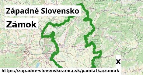 ilustračný obrázok k Zámok, Západné Slovensko