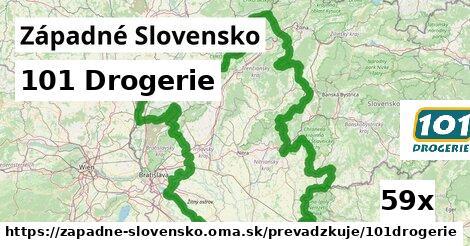 101 Drogerie v Západné Slovensko