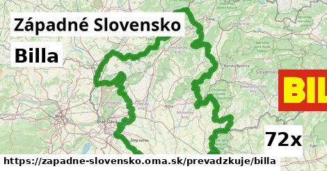 Billa v Západné Slovensko