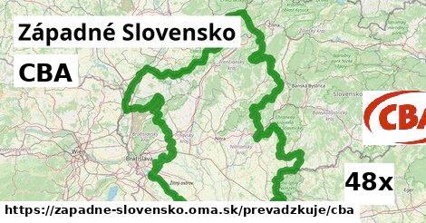 CBA v Západné Slovensko