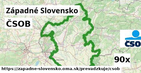 ČSOB v Západné Slovensko
