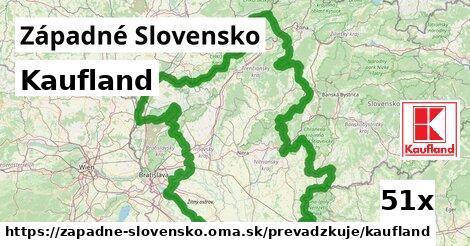 Kaufland v Západné Slovensko