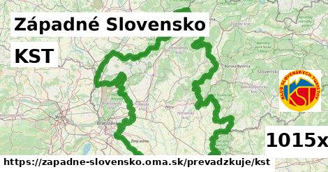 ilustračný obrázok k KST, Západné Slovensko