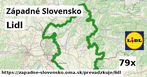 Lidl v Západné Slovensko