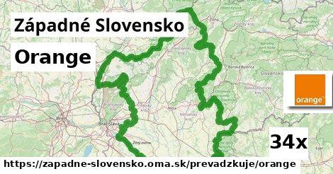 Orange v Západné Slovensko