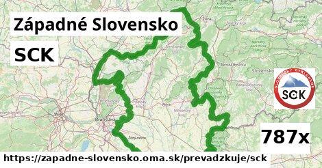 ilustračný obrázok k SCK, Západné Slovensko