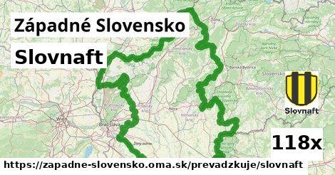ilustračný obrázok k Slovnaft, Západné Slovensko