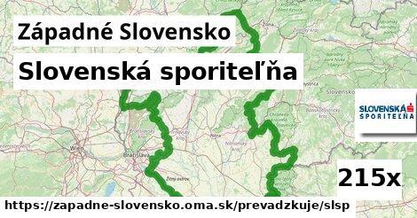 Slovenská sporiteľňa v Západné Slovensko
