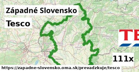 Tesco v Západné Slovensko