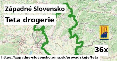 Teta drogerie v Západné Slovensko