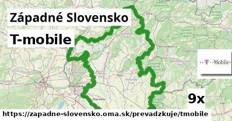 T-mobile v Západné Slovensko