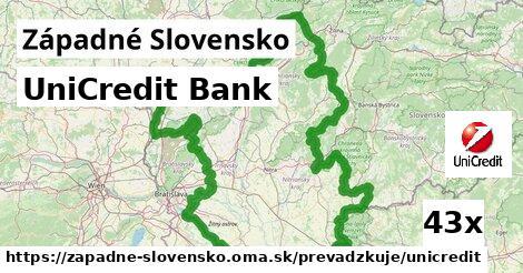 UniCredit Bank v Západné Slovensko