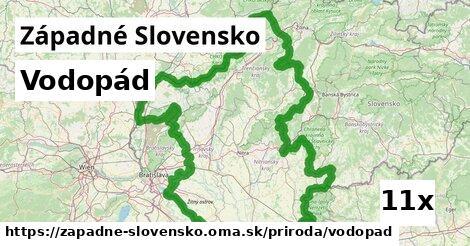 ilustračný obrázok k Vodopád, Západné Slovensko