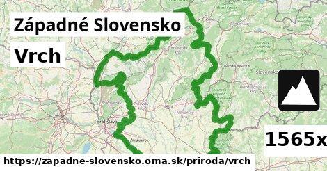 ilustračný obrázok k Vrch, Západné Slovensko