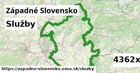 služby v Západné Slovensko