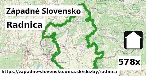 radnica v Západné Slovensko