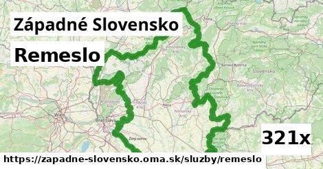 remeslo v Západné Slovensko