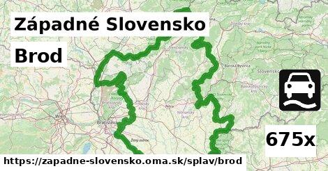 ilustračný obrázok k Brod, Západné Slovensko