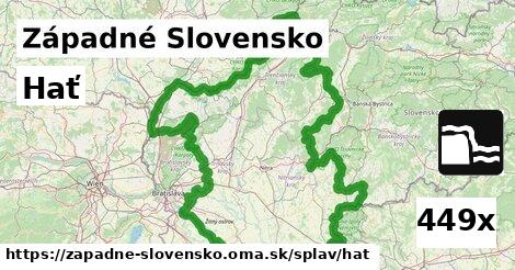hať v Západné Slovensko