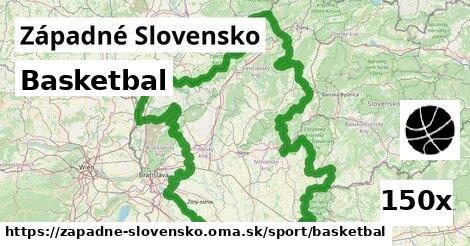 basketbal v Západné Slovensko