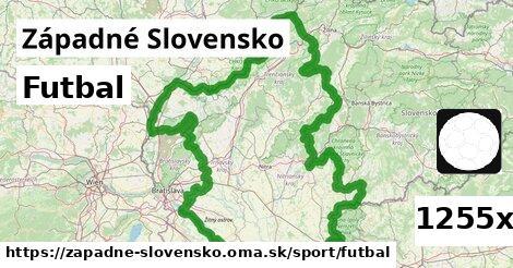 ilustračný obrázok k Futbal, Západné Slovensko