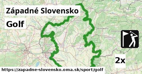 golf v Západné Slovensko