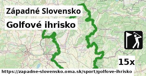 golfové ihrisko v Západné Slovensko