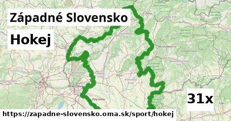 hokej v Západné Slovensko