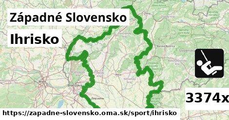 ilustračný obrázok k Ihrisko, Západné Slovensko