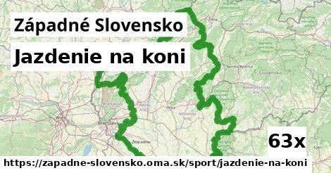jazdenie na koni v Západné Slovensko