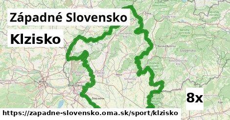 klzisko v Západné Slovensko