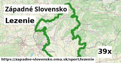 lezenie v Západné Slovensko