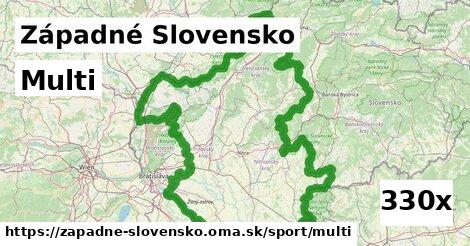 multi v Západné Slovensko