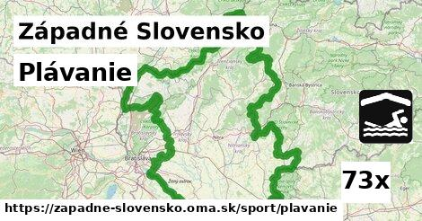 plávanie v Západné Slovensko