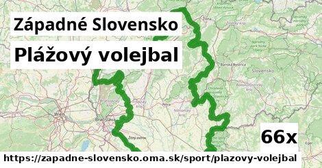 plážový volejbal v Západné Slovensko