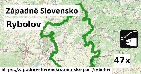 rybolov v Západné Slovensko