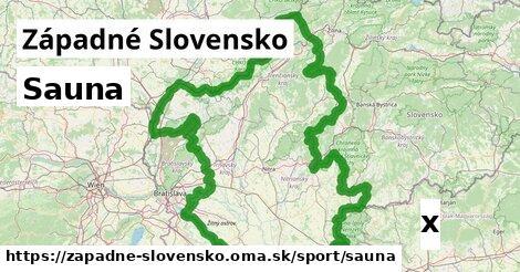 sauna v Západné Slovensko
