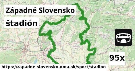 štadión v Západné Slovensko