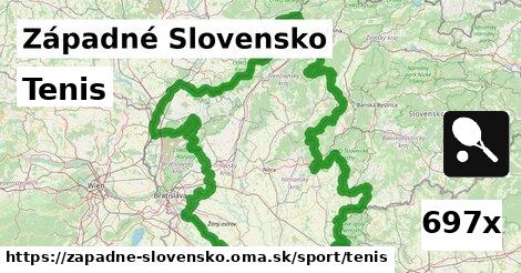 tenis v Západné Slovensko