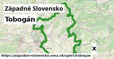 tobogán v Západné Slovensko